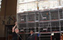 Nouveaux vitraux de l'église Sainte-Thérèse à Boulogne