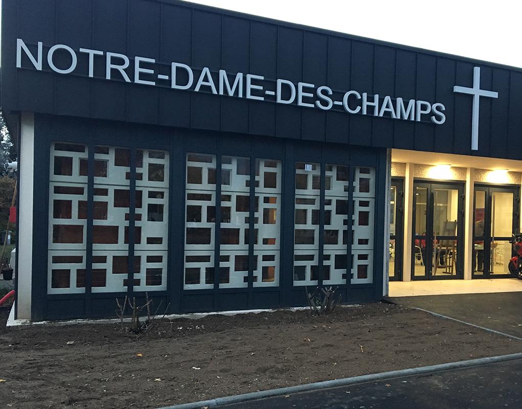 Taverny : rénovation du centre Notre-Dame-des-Champs (95)