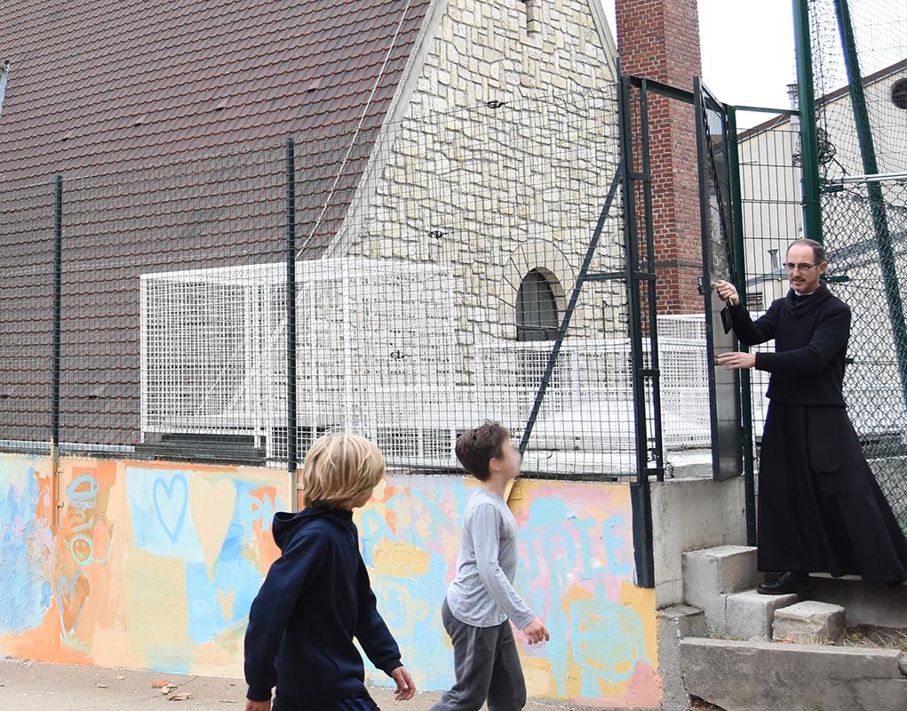 Paroisse Cœur-Eucharistique-de-Jésus (Paris 20e): améliorer l'accueil des jeunes