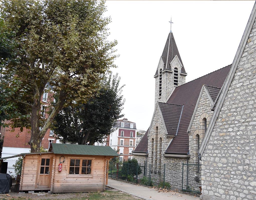 Église du Cœur-Eucharistique-de-Jésus (Paris 20e)