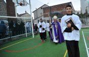 Bénédiction des locaux du Cœur Eucharistique à Paris