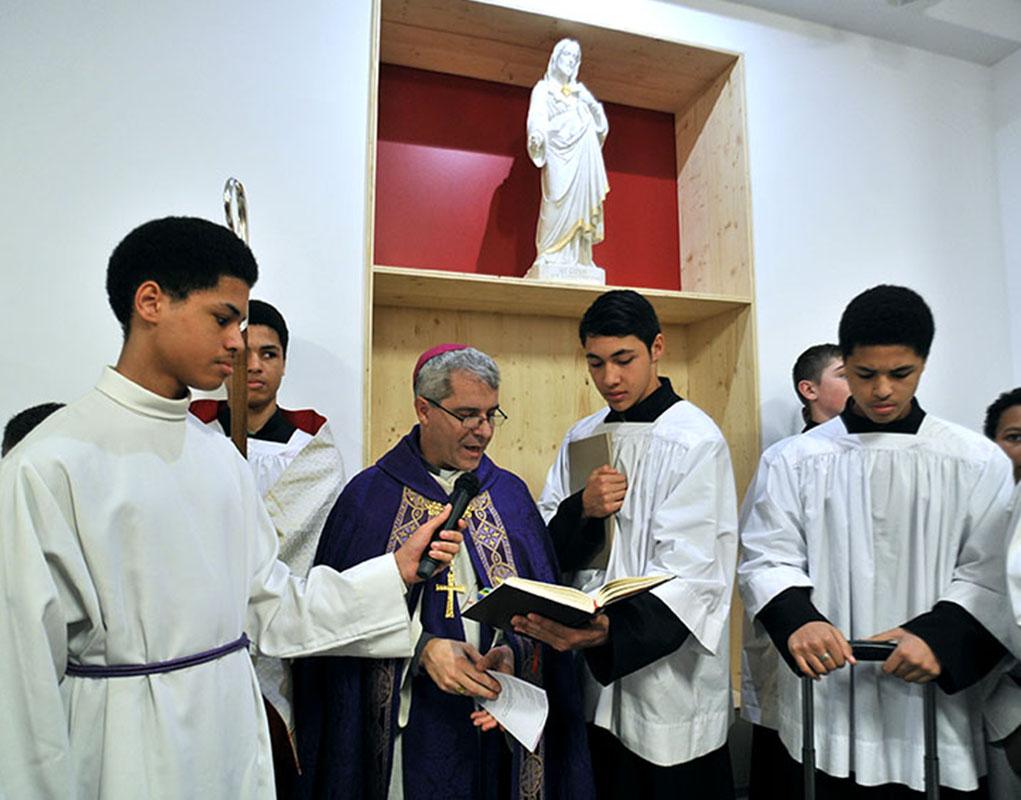 Nouveaux locaux du Cœur-Eucharistique-de-Jésus (Paris 20e)
