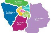Huit diocèses d'Île-de-France