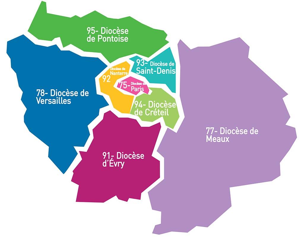 8 Dioceses D Ile De France Chantiers Du Cardinal
