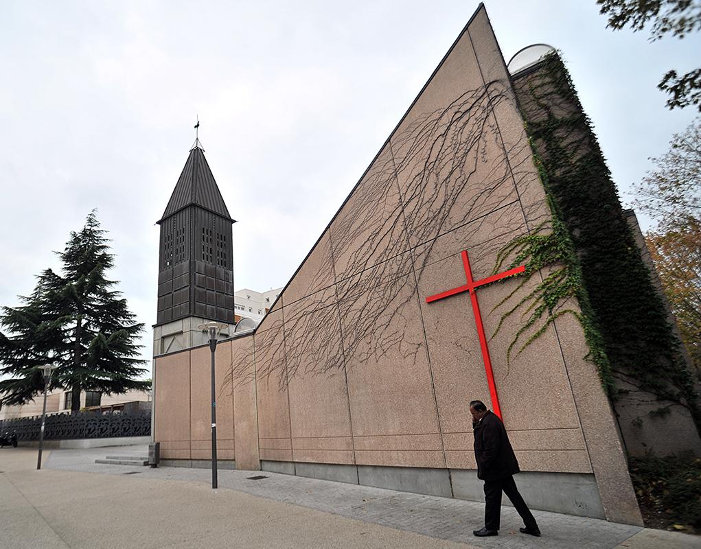 Inauguration à l'église Sainte-Marie-des-Peuples à Cergy