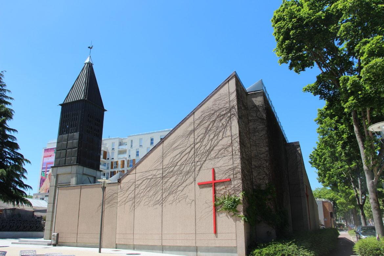 Église Sainte-Marie-des-Peuples à Cergy (95)