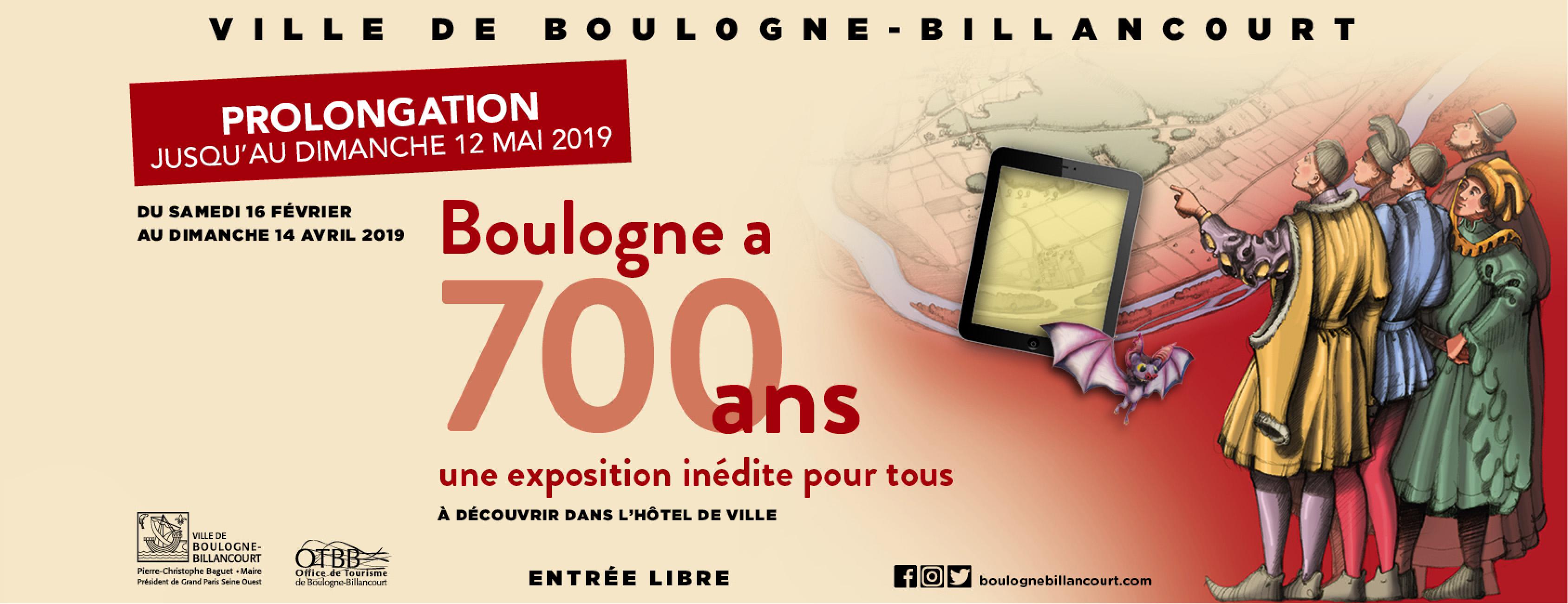 Exposition 700 ans de Notre-Dame de Boulogne