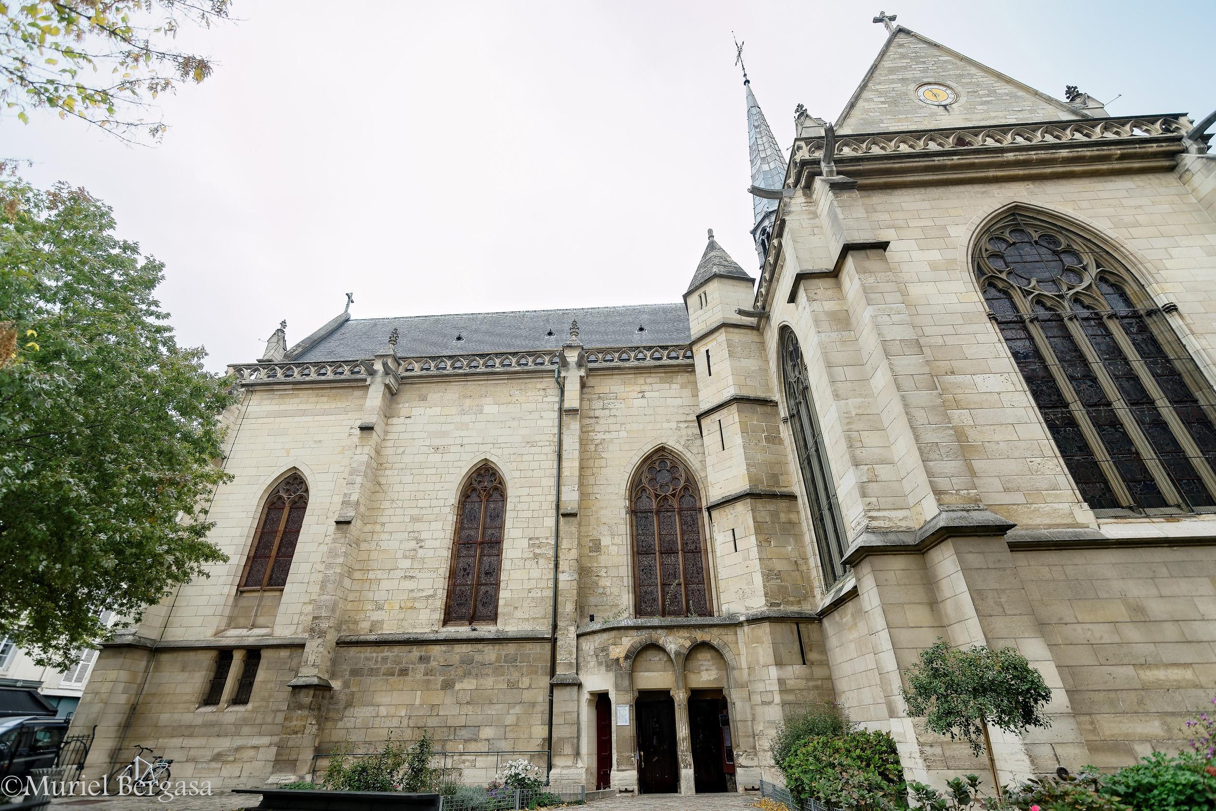 L'origine de l'église Notre-Dame de Boulogne remonte à 1319