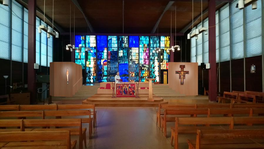 Vue de l'église de Fresnes