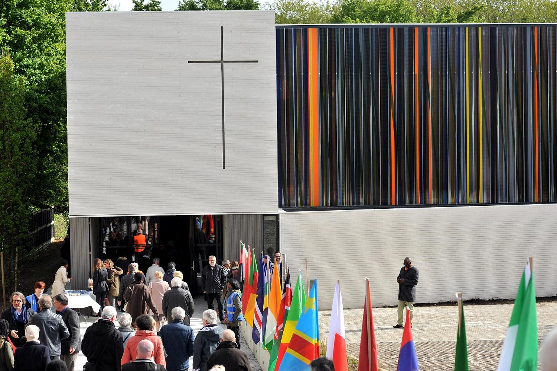 Consécration de l'église Saint-Joseph à Montigny-lès-Cormeilles (Val-d'Oise) le 5 mai 2019.
