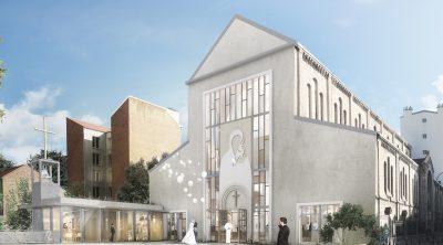Achever le chantier de l'église d'Asnières-sur-Seine (92)