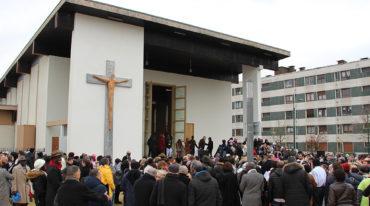 «Les travaux de l'église Saint-Jean-Baptiste ont marqué le Val Fourré»