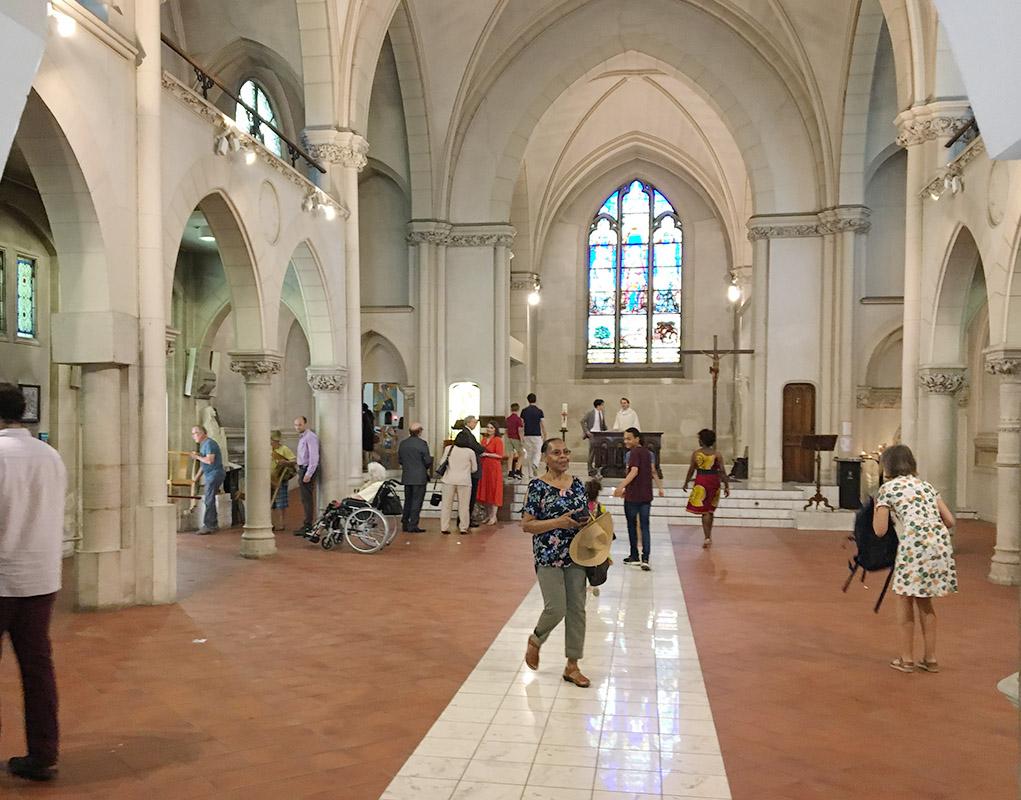 Donner un nouvel éclat à l'église Sainte-Rosalie (Paris)