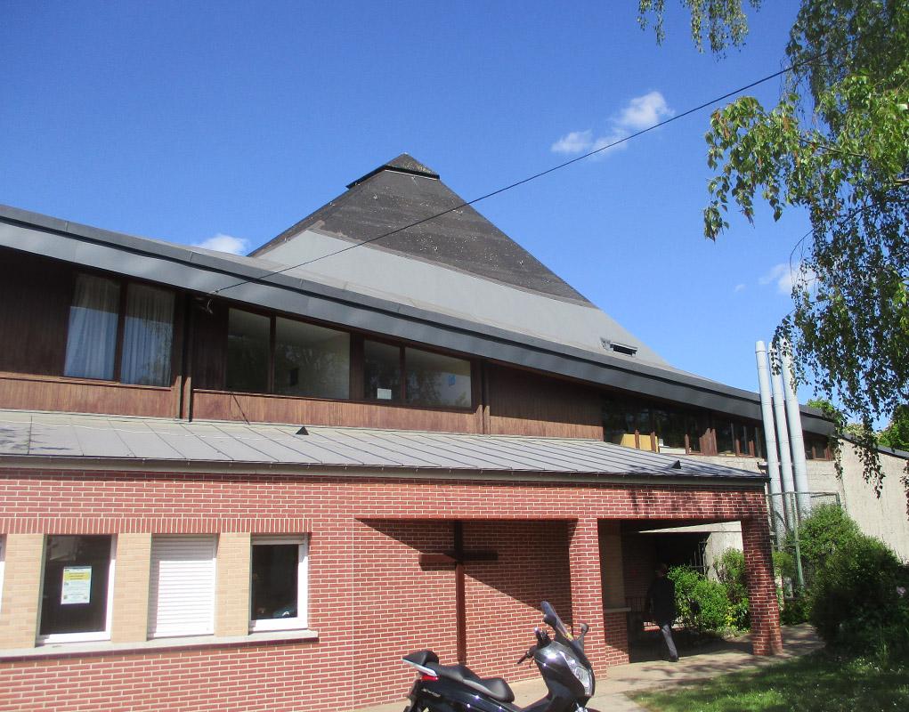 Eaubonne : réparer le toit de Notre-Dame-de-l'Assomption