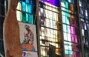 Fresnes/L'Haÿ-les-Roses : restauration de vitraux en cours