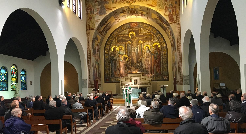 Assemblée annuelle des délégués 2019 en l'église Saint-François-d'Assise à Paris 19e.