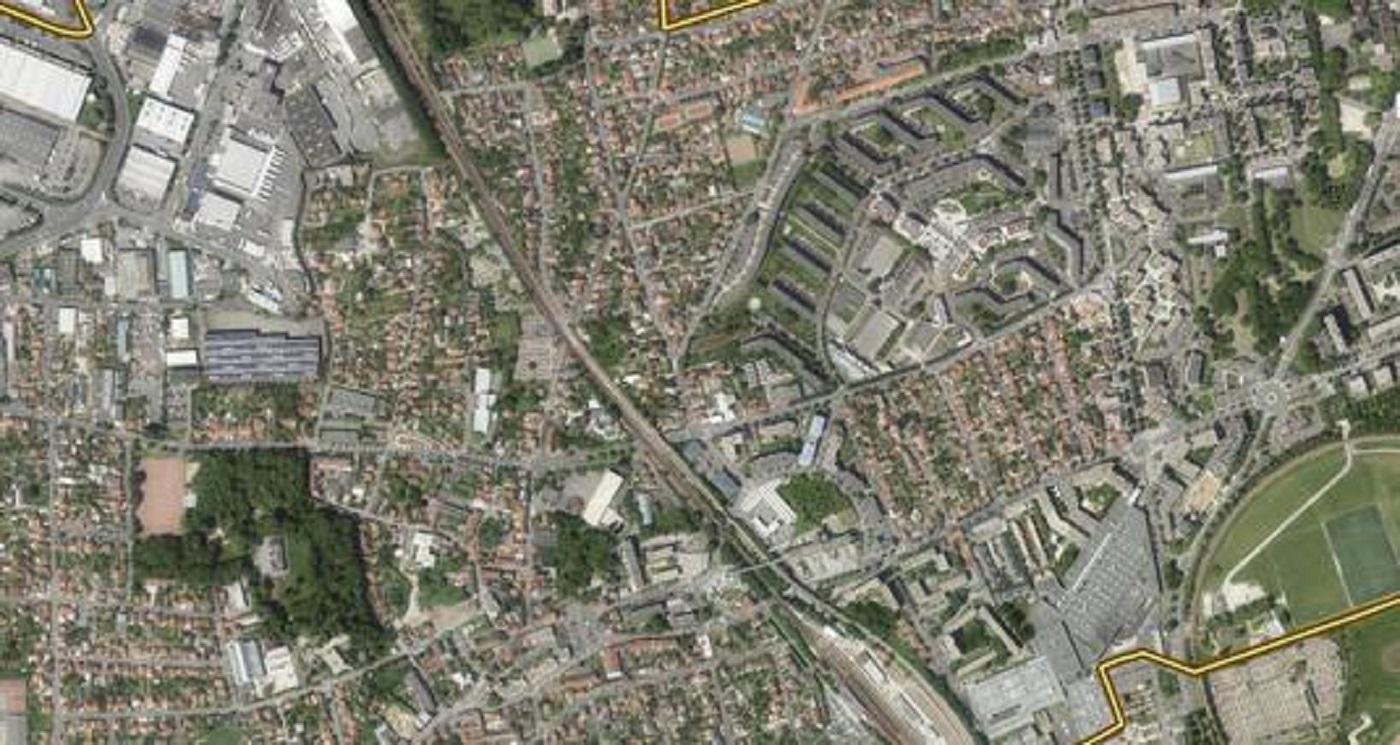 Plan d'urbanisme de la ville d'Orly.