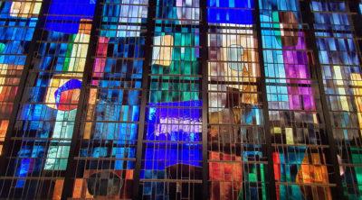 Fresnes / L'Haÿ-les-Roses : installation de la verrière