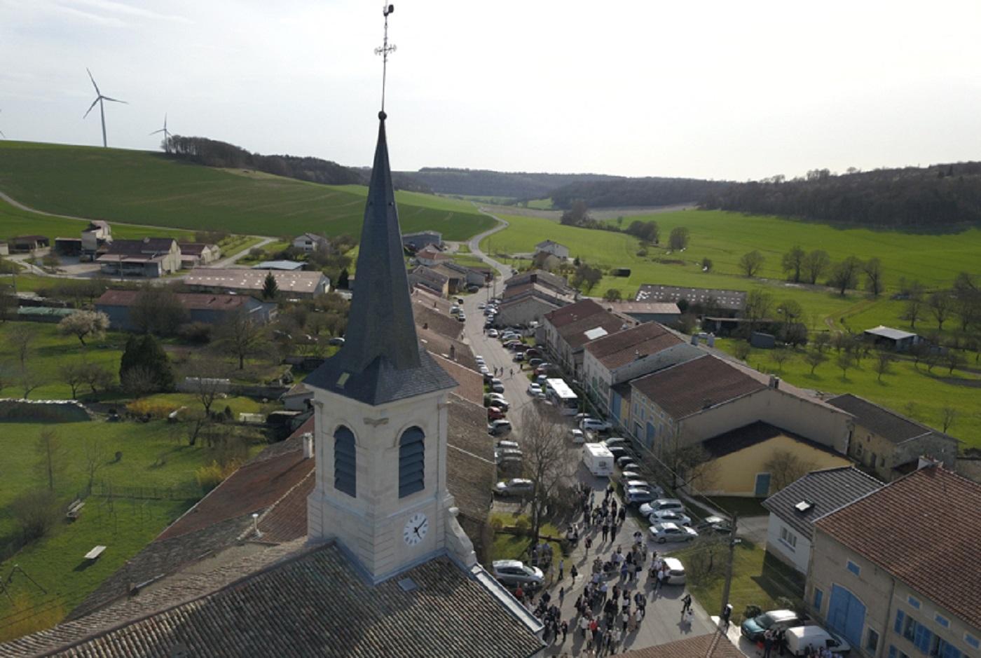 L'église de l'Invention-de-Saint-Étienne à Méligny-le-Petit (Meuse) a bénéficié d'une restauration d'un montant de 380 000 €.