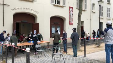 La paroisse Sainte-Rosalie participe à la distribution de repas coordonnée par le Diocèse de Paris