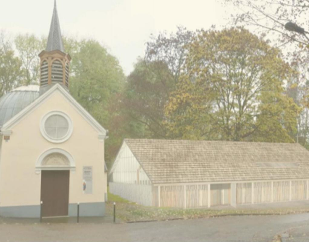 Bâtir l'église Saint-Jean-XXIII à Clichy-sous-Bois