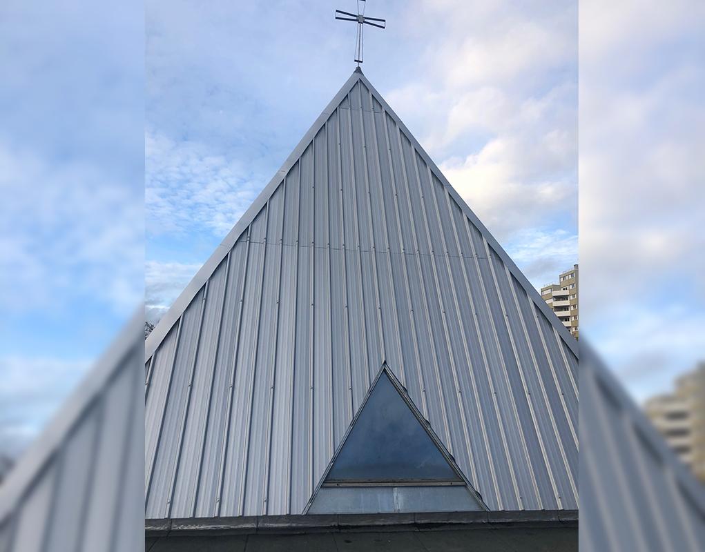 Meaux : renforcer le toit de l'église Saint-Damien-de-Veuster