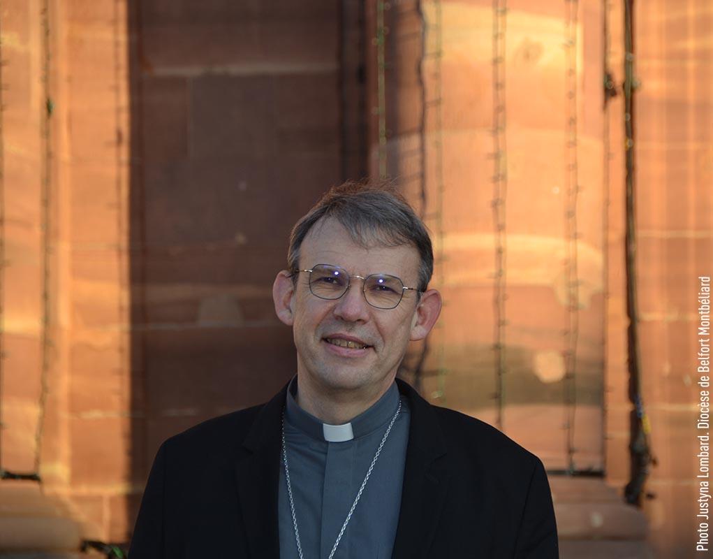 Mgr Blanchet, un nouvel évêque pour Créteil