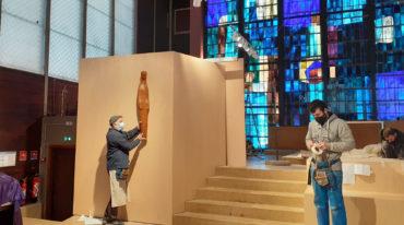 Fresnes : aménagement du chœur de l'église Saint-Paul