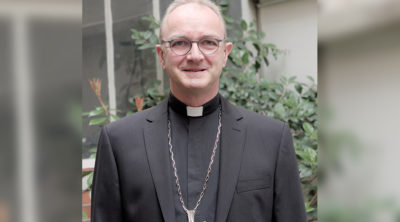 Mgr Thibault Verny, évêque accompagnateur