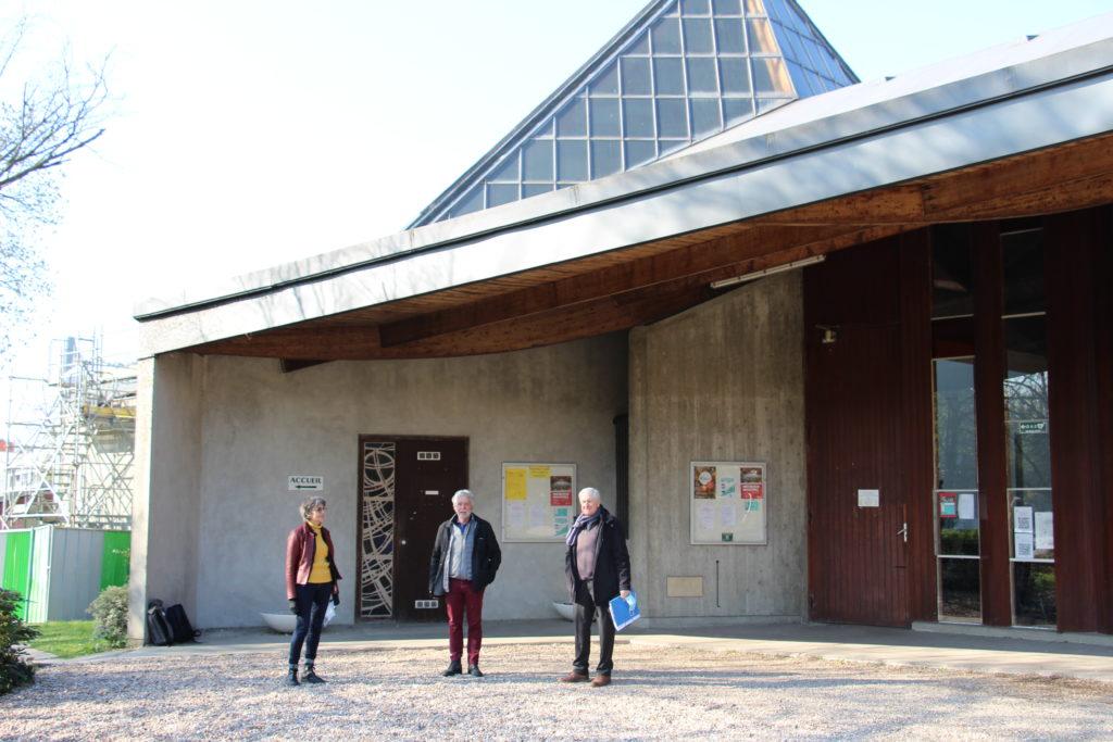 exterieur de l'église d'Eaubonne