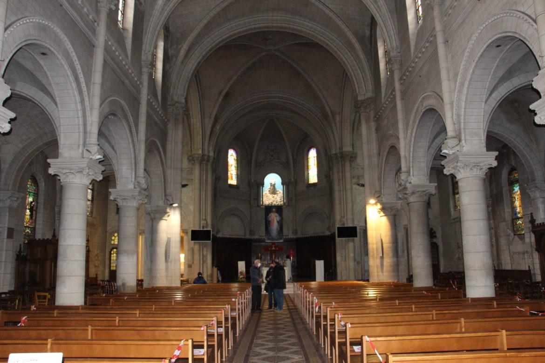 Intérieur de l'église ND d'Alfortville.