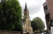 Réparer le toit de l'église Notre-Dame à Alfortville